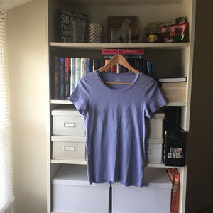 J. Crew Periwinkle Perfect Fit T-Shirt